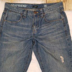 J. Crew Boyfriend Jeans